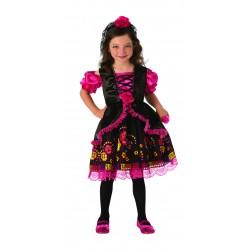 Disfraz de Catrinita para niña