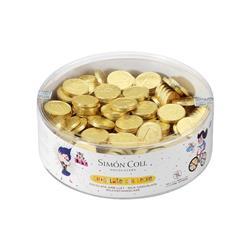 Monedas de Chocolate con Leche 300 unid.