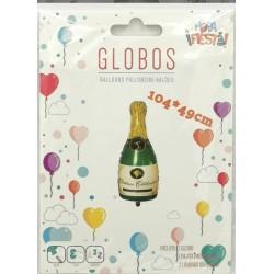 Globo Botella de Champan...