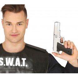 Pistola Plata 24 cm.