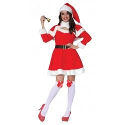 Disfraz de Mama Noel para mujer