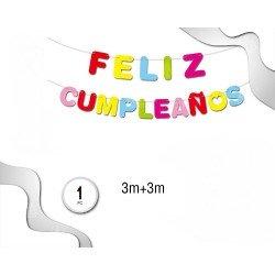 Guirnada Feliz Cumpleaños 3...