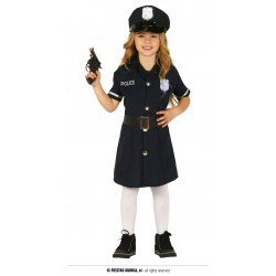 Disfraz de Policía para niña