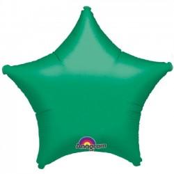 Globo Estrella Verde 45 cm....