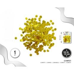 Confeti Dorado 1.5 cm. en...