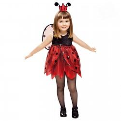 Disfraz de Mariquita Hada para niña
