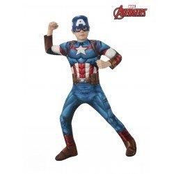 Disfraz de Capitán América...