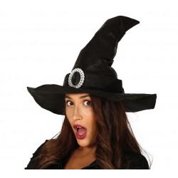 Sombrero de Bruja Negro...