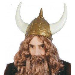 Casco de Vikingo Lujo adulto