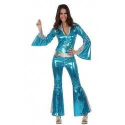 Disfraz de Disco Azul para...