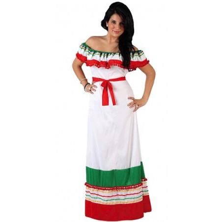 Disfraz de Mejicana Adulto