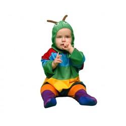 Disfraz de Gusanito para bebé