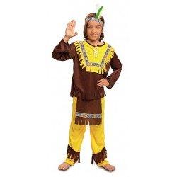 Disfraz de Indio Marrón...