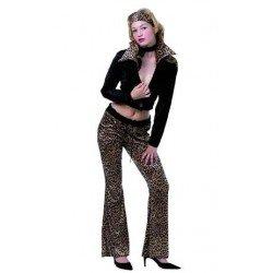 Disfraz de Chula Leopardo...
