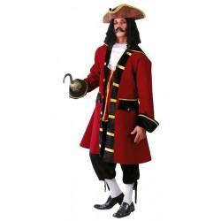 Disfraz de Capitan Garfio de adulto