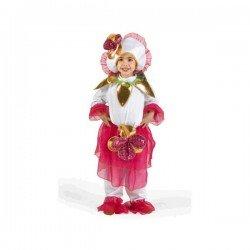 Disfraz de Flor para niña