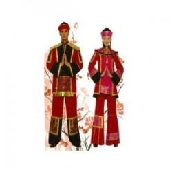 Disfraz de China Lujo para...