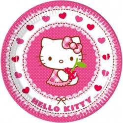 PLATOS HELLO KITTY 23 CM. 8...