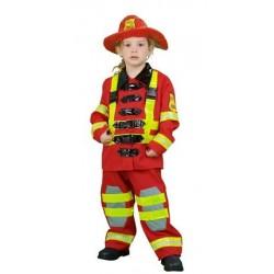 Disfraz de Bombero 3-4 años