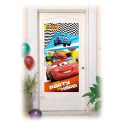 POSTER CARS PUERTA 76X152 CM.