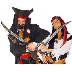 Espada Pirata Curva 70CM.