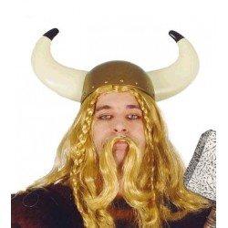 Casco de Vikingo para adulto