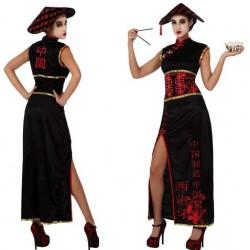 Disfraz de China Negro