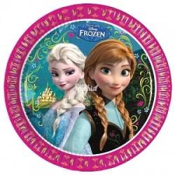 Platos de Frozen 8 un. de...
