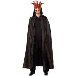 Capa Veneciana Negra con...