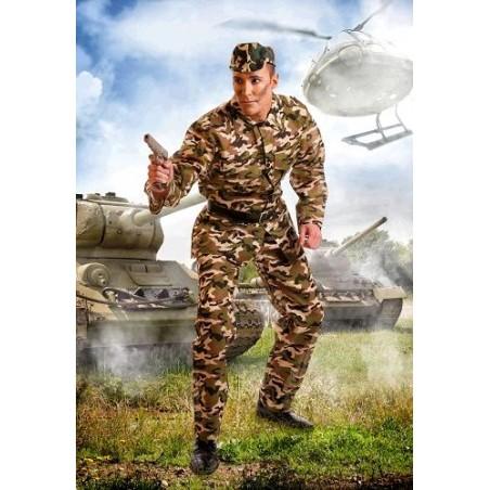 Disfraz de Militar adulto