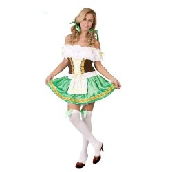 Disfraz de Tirolesa adulto