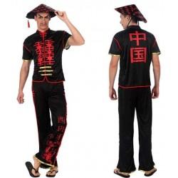 Disfraz de Chino Negro para...