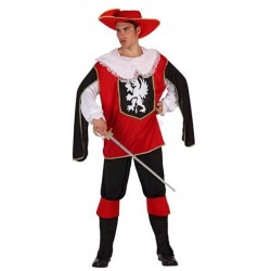 Disfraz de Mosquetero Rojo...