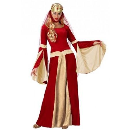 Disfraz de Dama Medieval para adulto XL