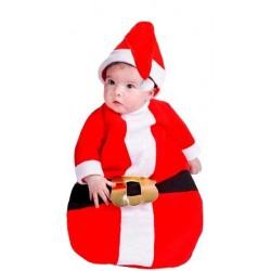 Disfraz de Papa Noel bebé 6 meses