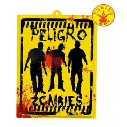CARTEL PELIGRO ZOMBIES...