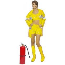 Disfraz de Bombera para mujer