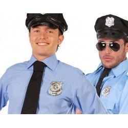 Placa de Policia Metálica