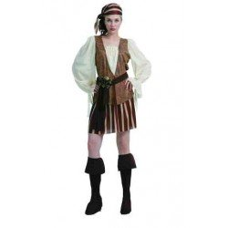 Disfraz Pirata Rayas para...
