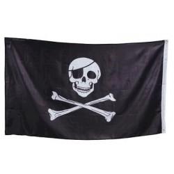 Bandera Pirata Sin Palo...