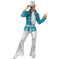 Disfraz de Disco Man para hombre XL