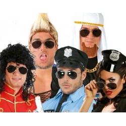 Gafas de Policia Negras