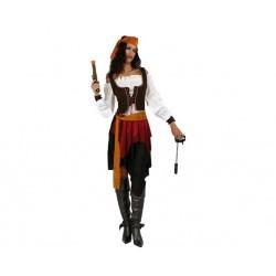 Disfraz de Pirata para mujer XL