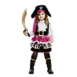 Disfraz Pirata Niña  5-6 Años
