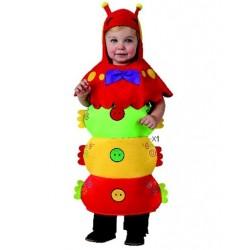 Disfraz de Gusano bebe 1-2...