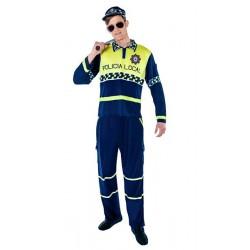 DISFRAZ POLICIA LOCAL XL
