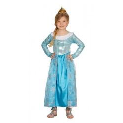 Disfraz de princesa del Hielo 7-9 años