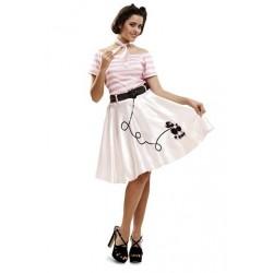 Disfraz de Pink Lady adulto