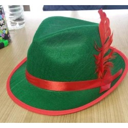 Sombrero de Tiroles con Pluma