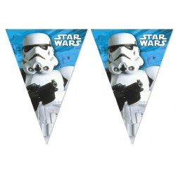 BANDERINES STAR WARS 2.3 M.